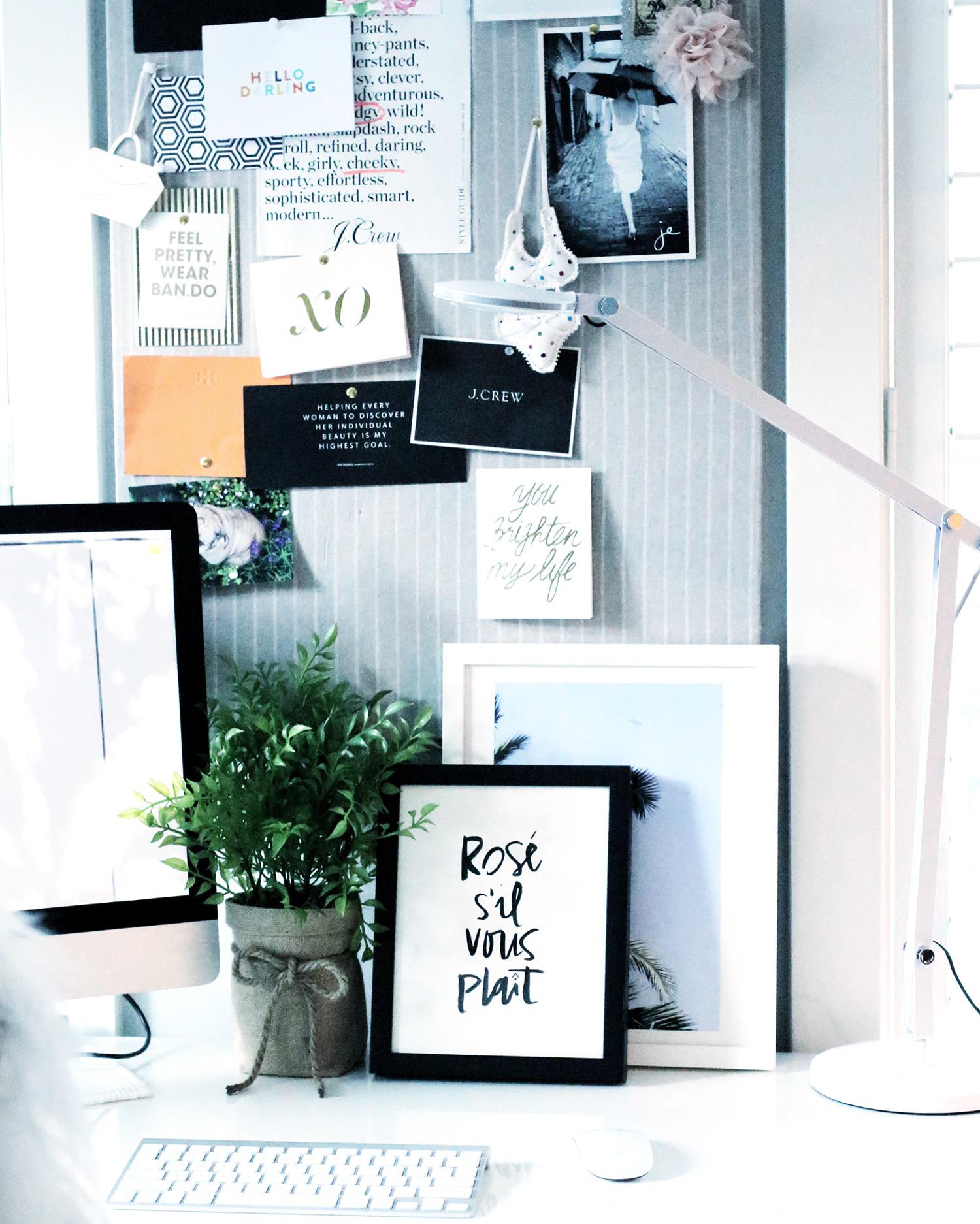 Chic Workspace Idea