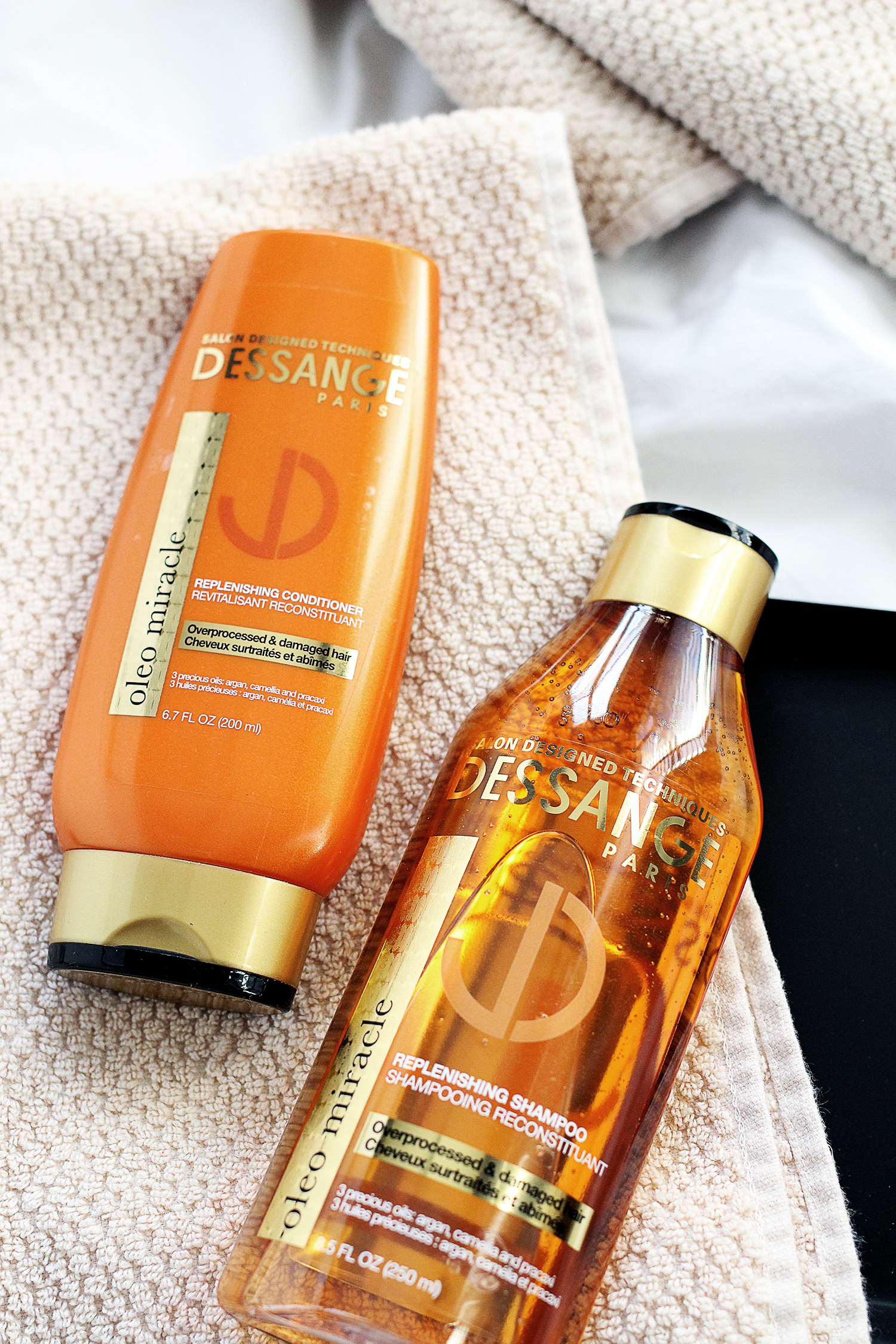 Shampoo and Conditioner for Overprocessed and Damaged Hair
