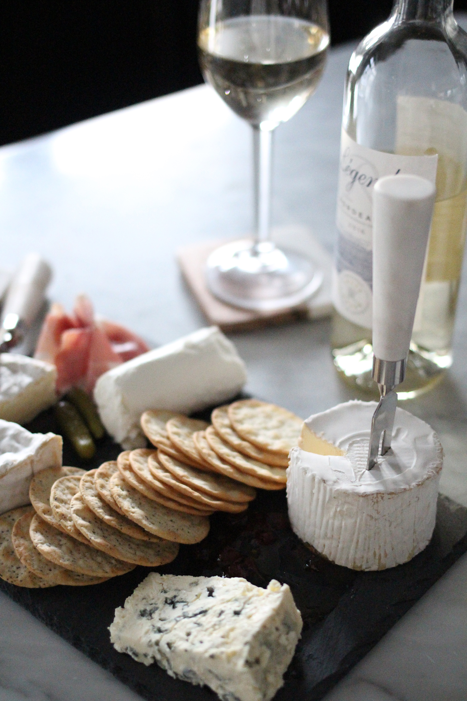 Wine & Cheese Pairings, French Cheese Board