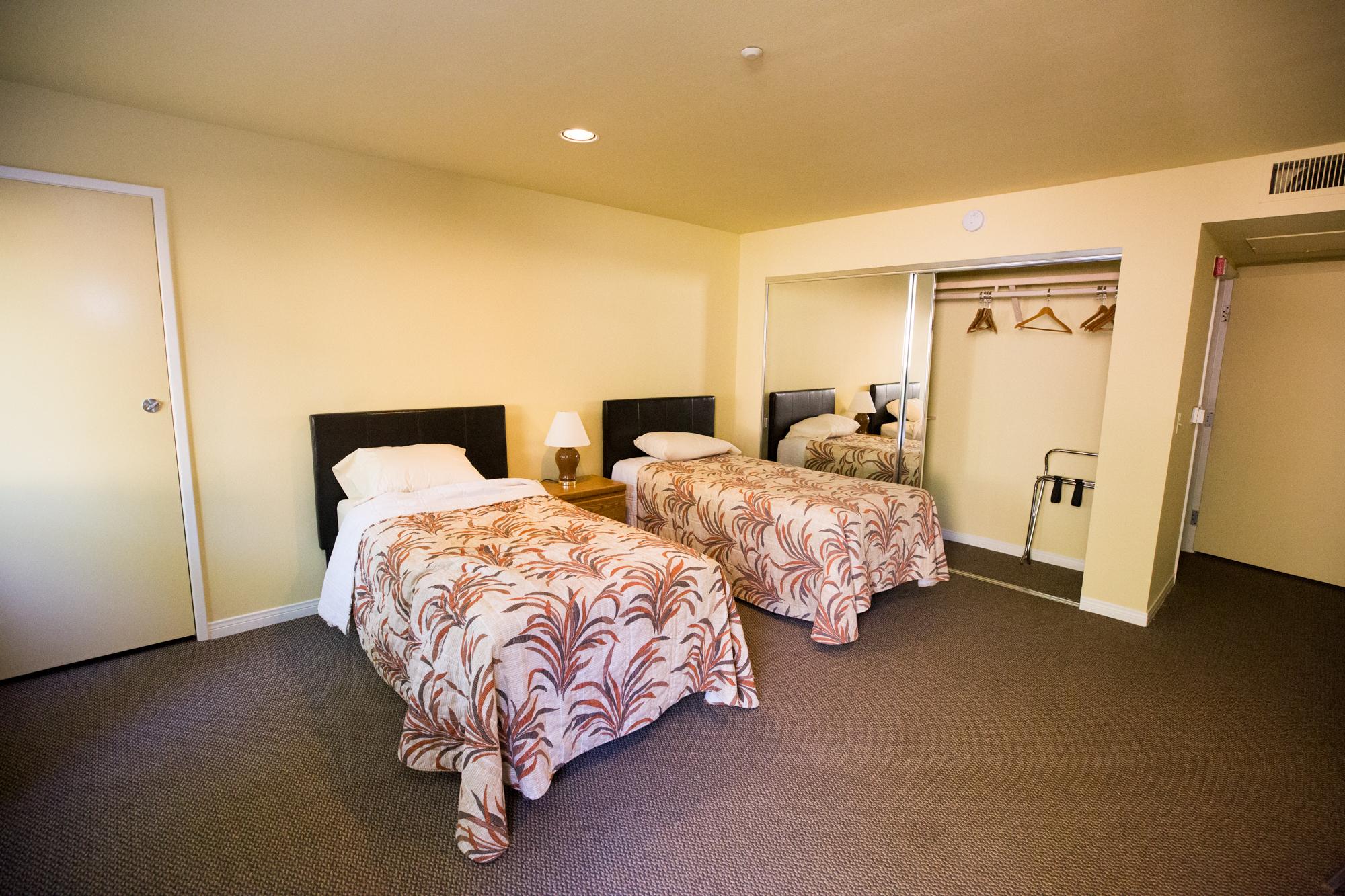 The Odyssey Hotel: Bedroom