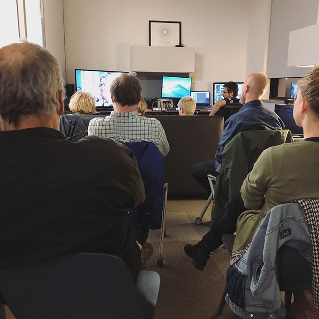 Had a mini screening of a documentary we're working on! We are so incredibly excited about this project! 🎥 @datavizexperiments . . . . . #datavisualization #data #visualization #visualart #visual #experiment #documentary #screening #film #art #create #animation #post #postproduction #vfx #motiongraphics #mograph #video #edit #editing #3d #vr #agencylife #postchat