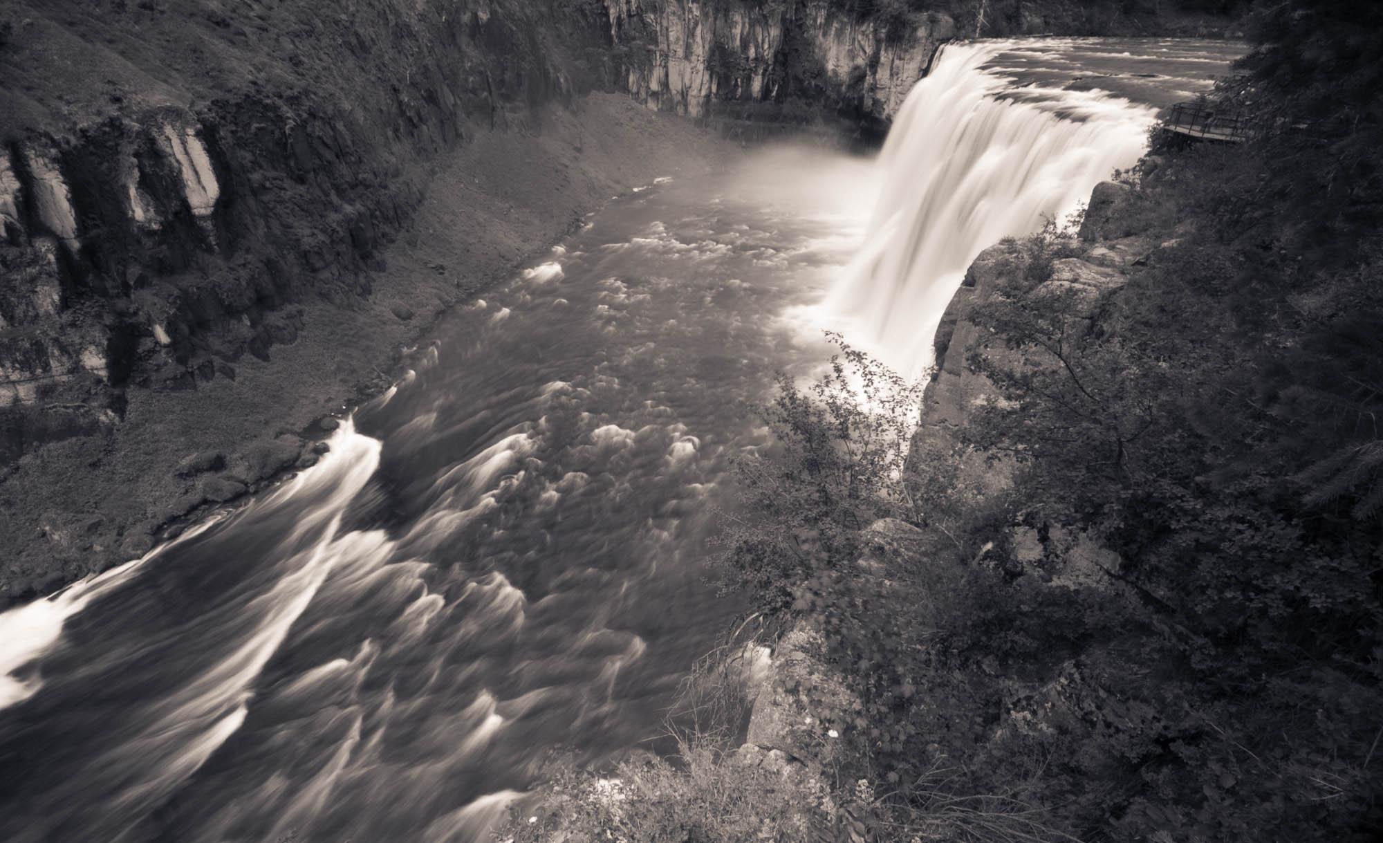 Upper Mesa Falls, Henry's Fork, Idaho 2013