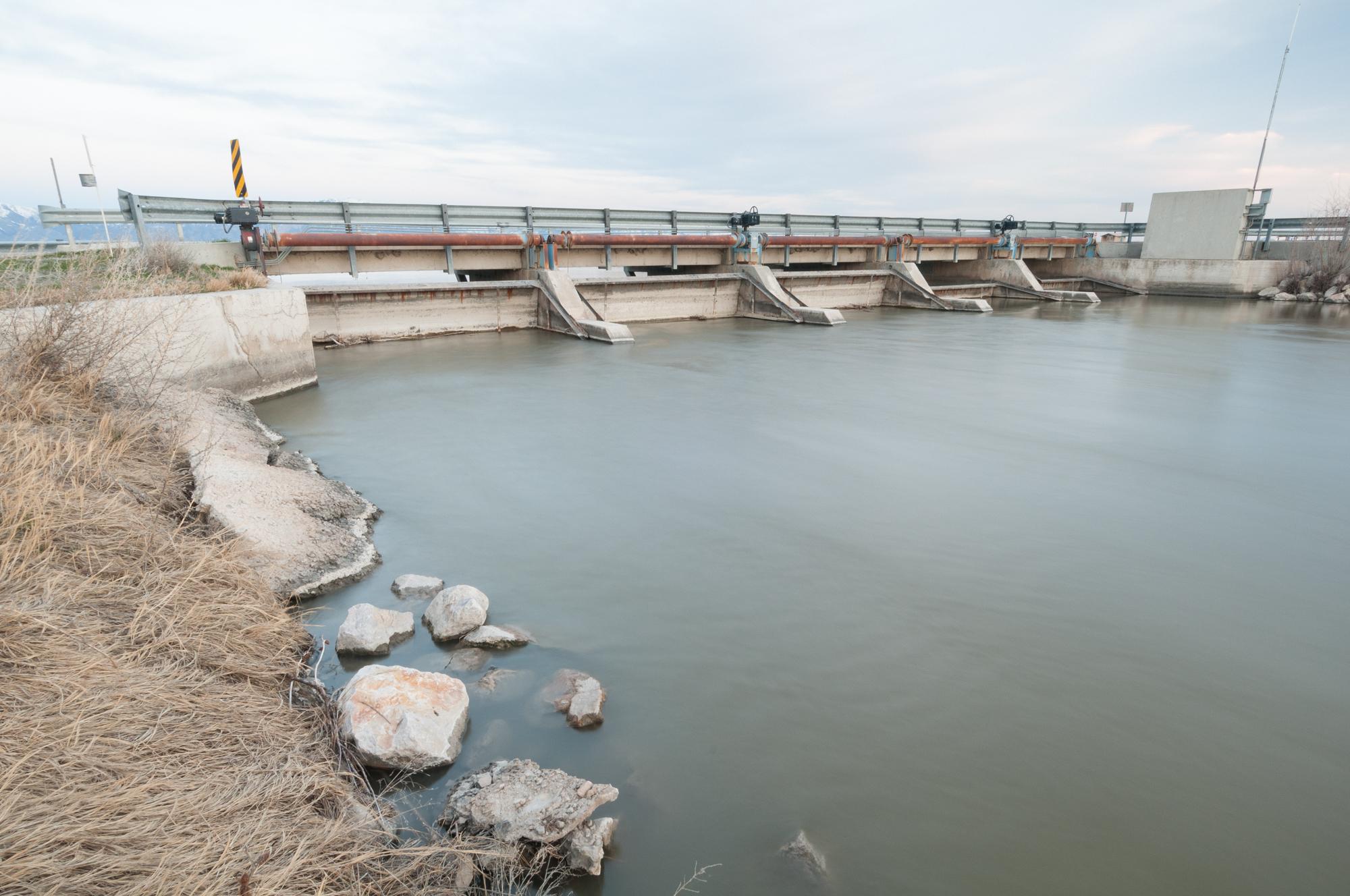 Bear River, Bear River Migratory Bird Refuge, Utah, 2016