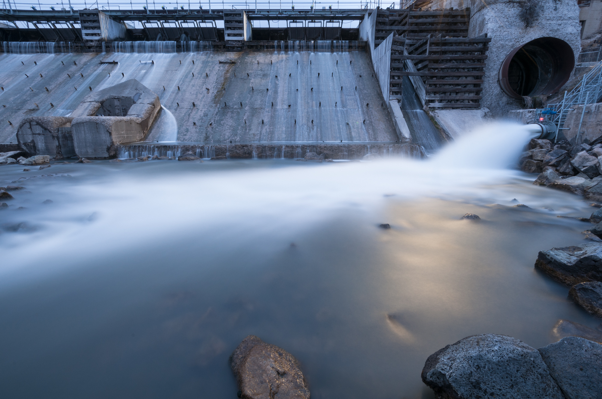 Grace Dam, Idaho, 2016