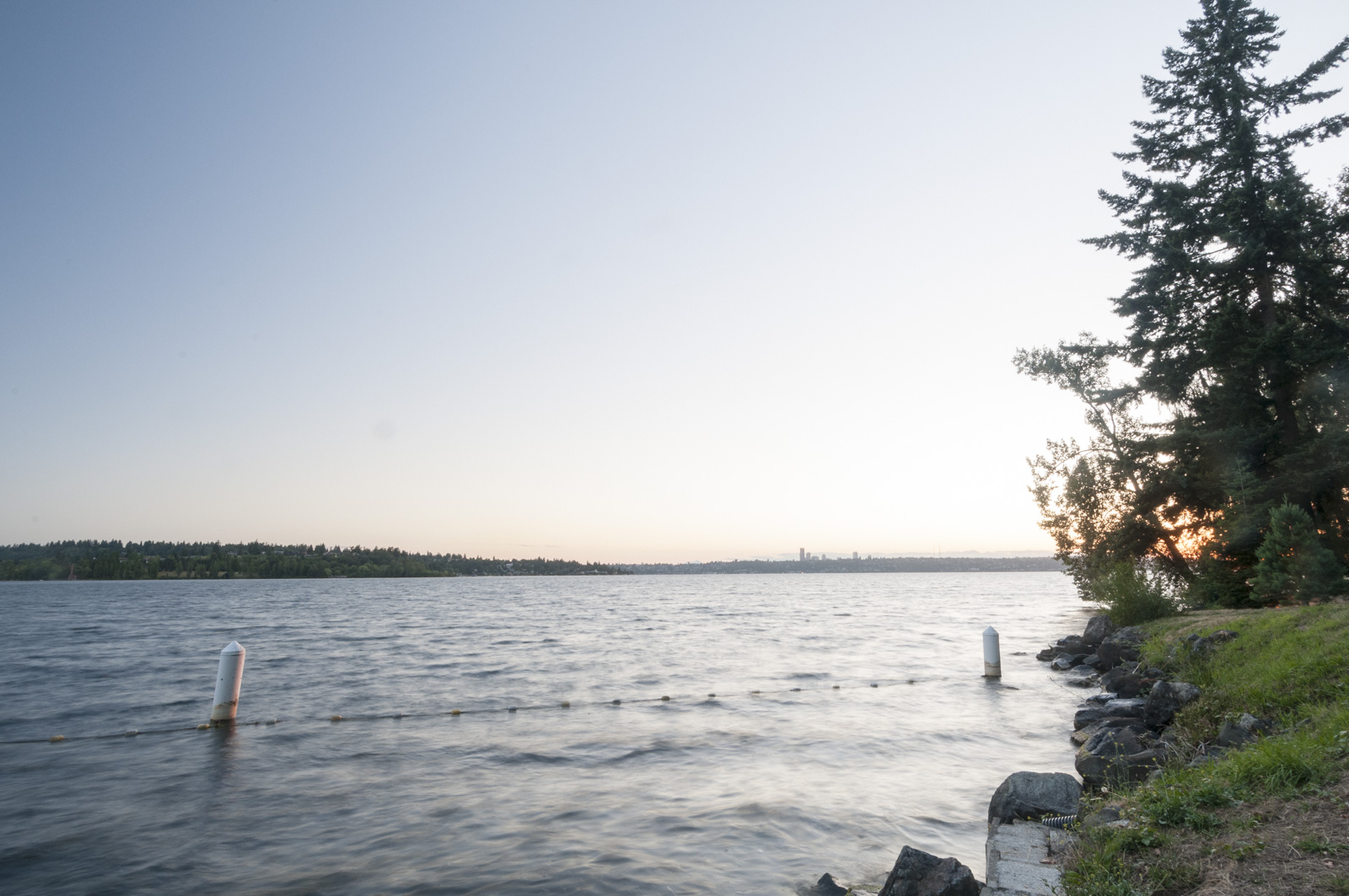 Lake Washington, Chism Park, Bellevue, Washington 2016