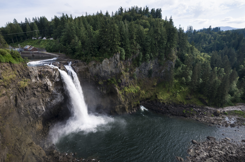 Snoqualmie Falls, Snoqualmie, Washington 2016