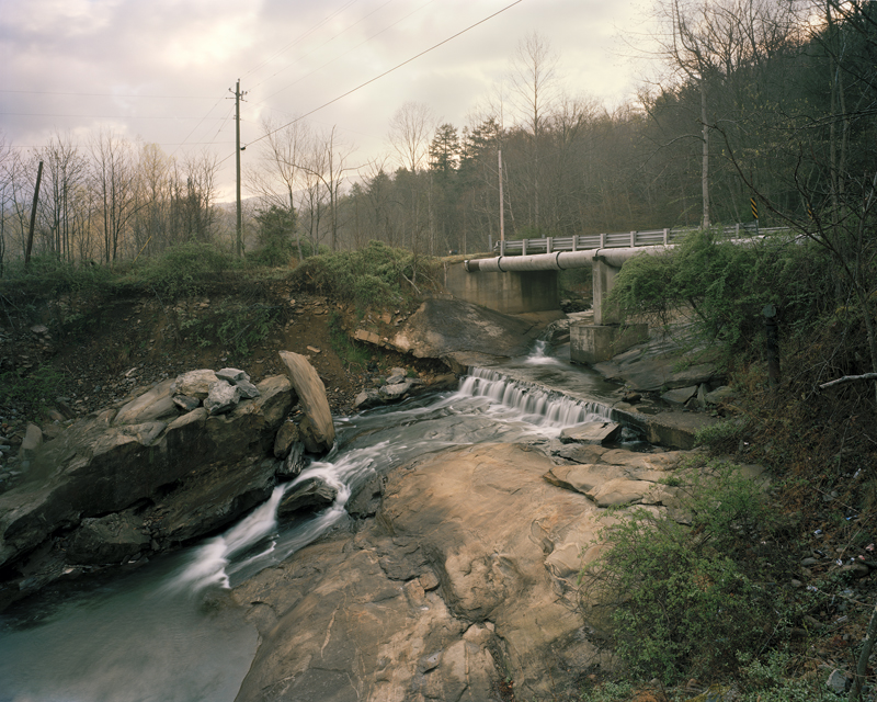 Watermain for the City of Asheville, The Swannanoa River, Black Mountain, North Carolina, 2007