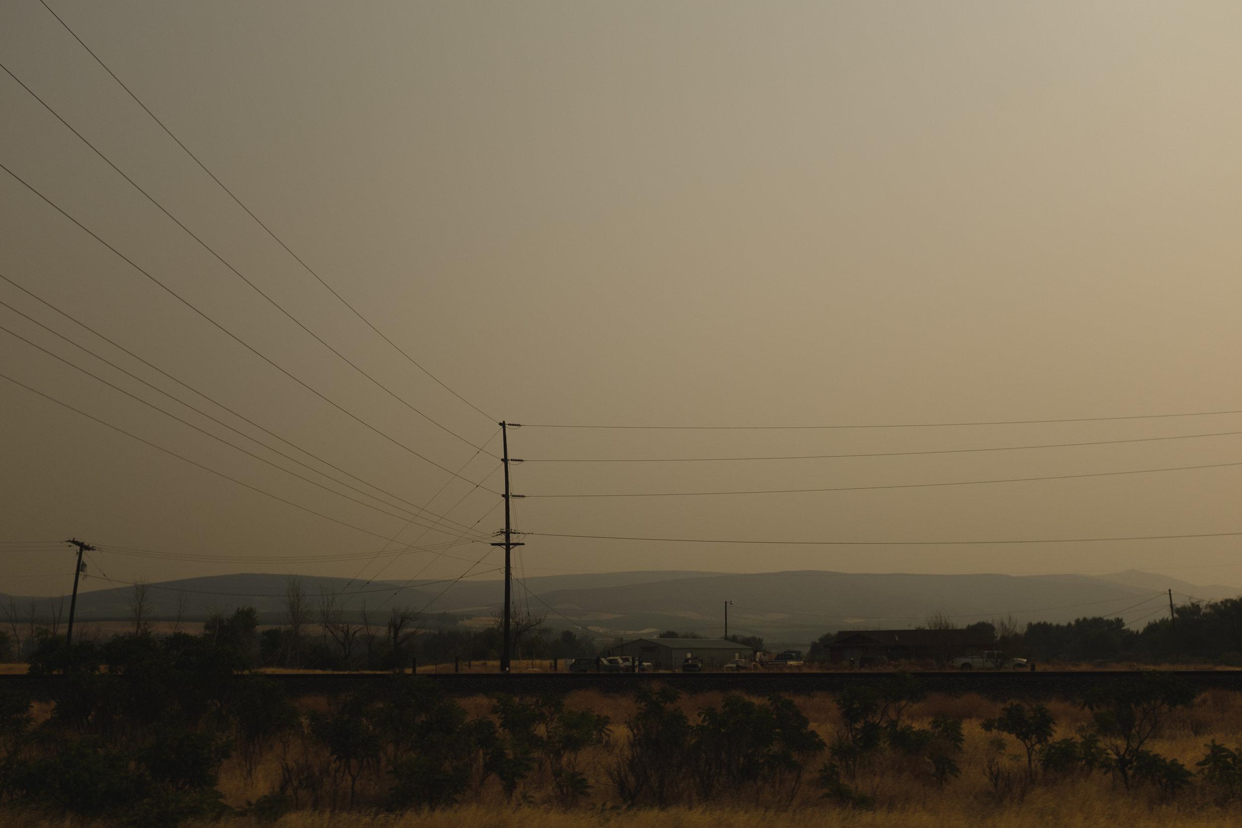Forest Fire Haze |Yakima, WA | Fujifilm x100s