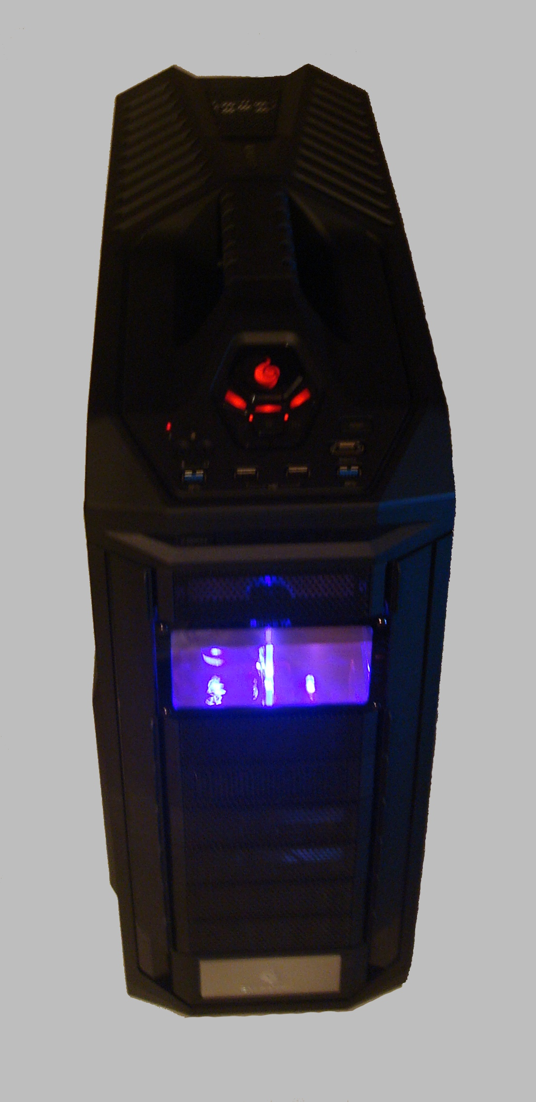 PC Water Cooling Case