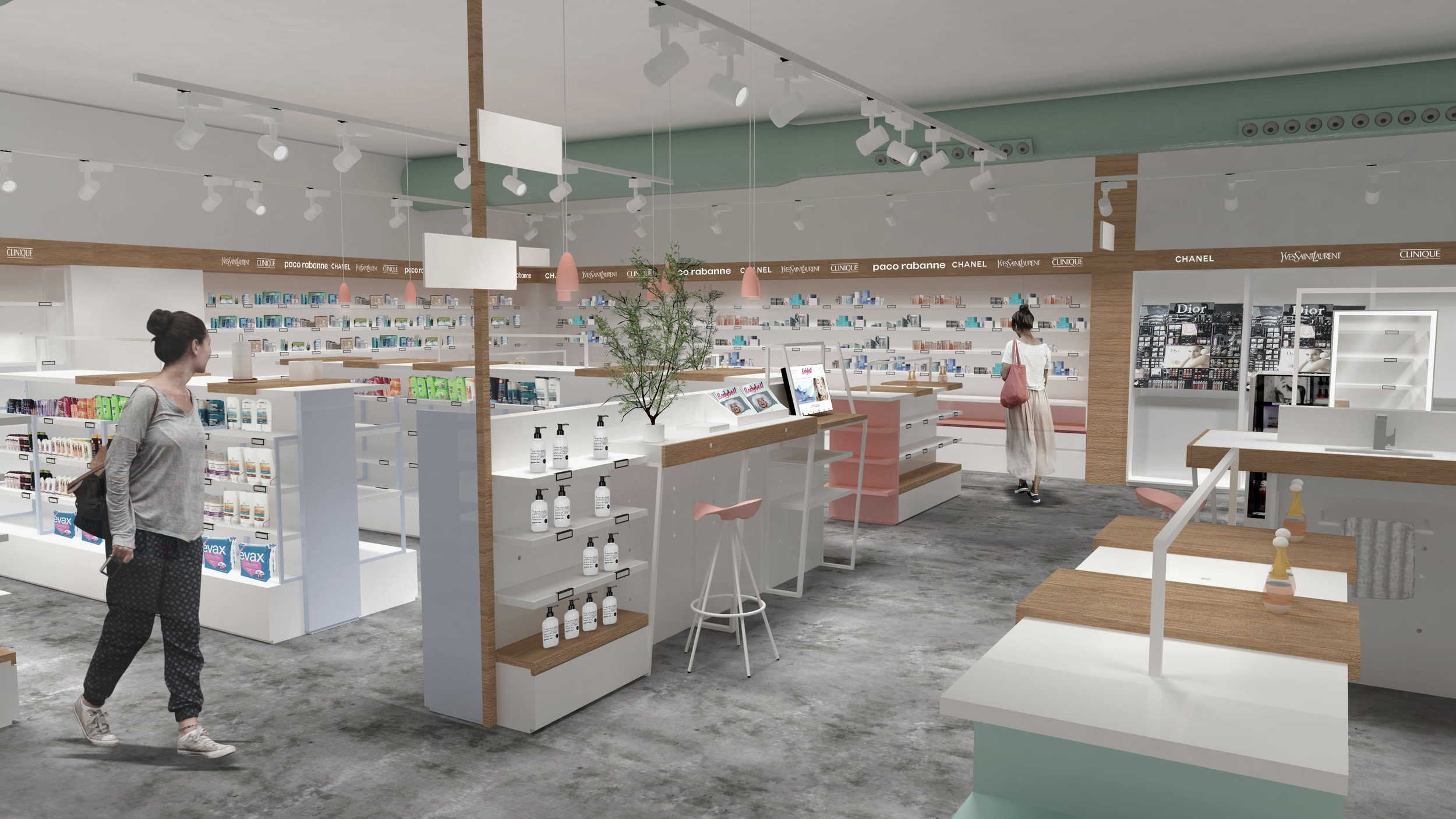 Bodybell concept store -