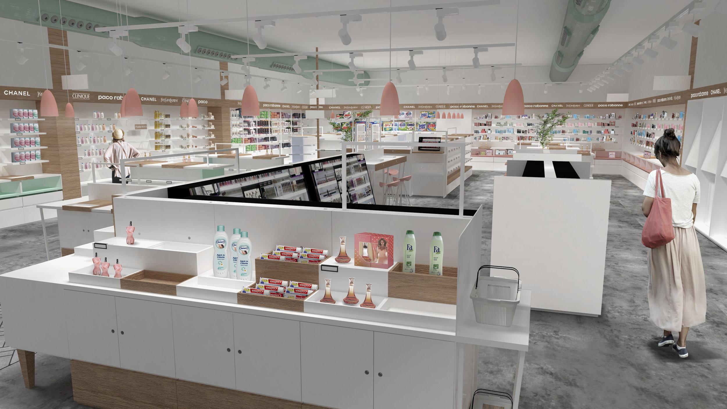 retail bodybell tienda de cosmetica