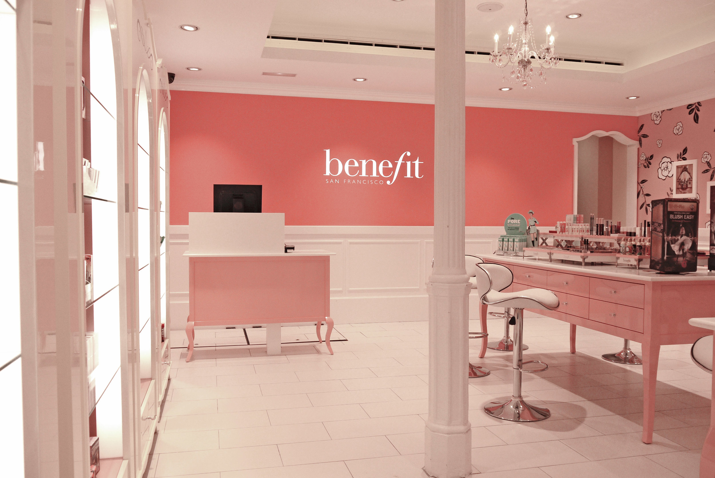 retail cosmetic brand