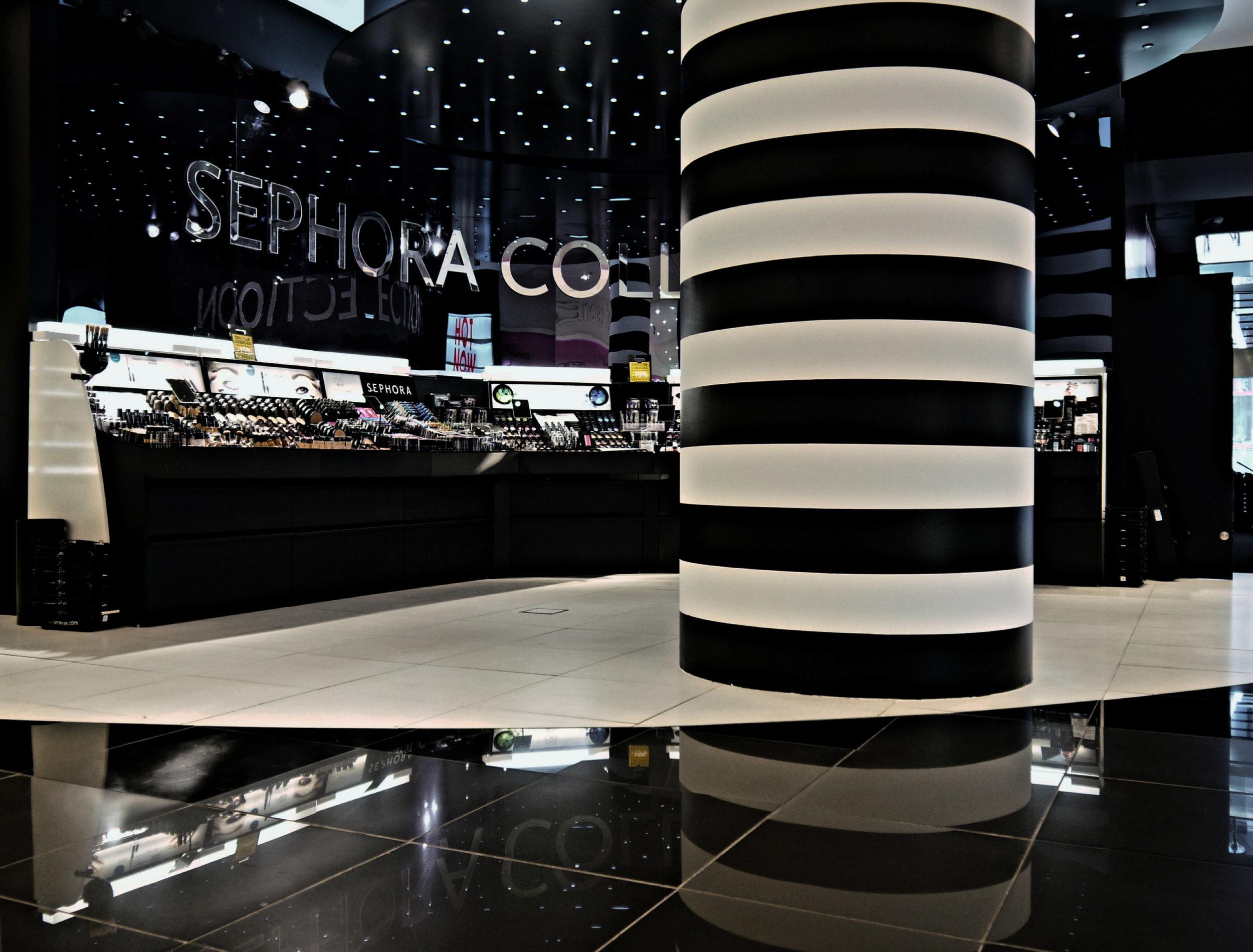 design retail brand cosmetic