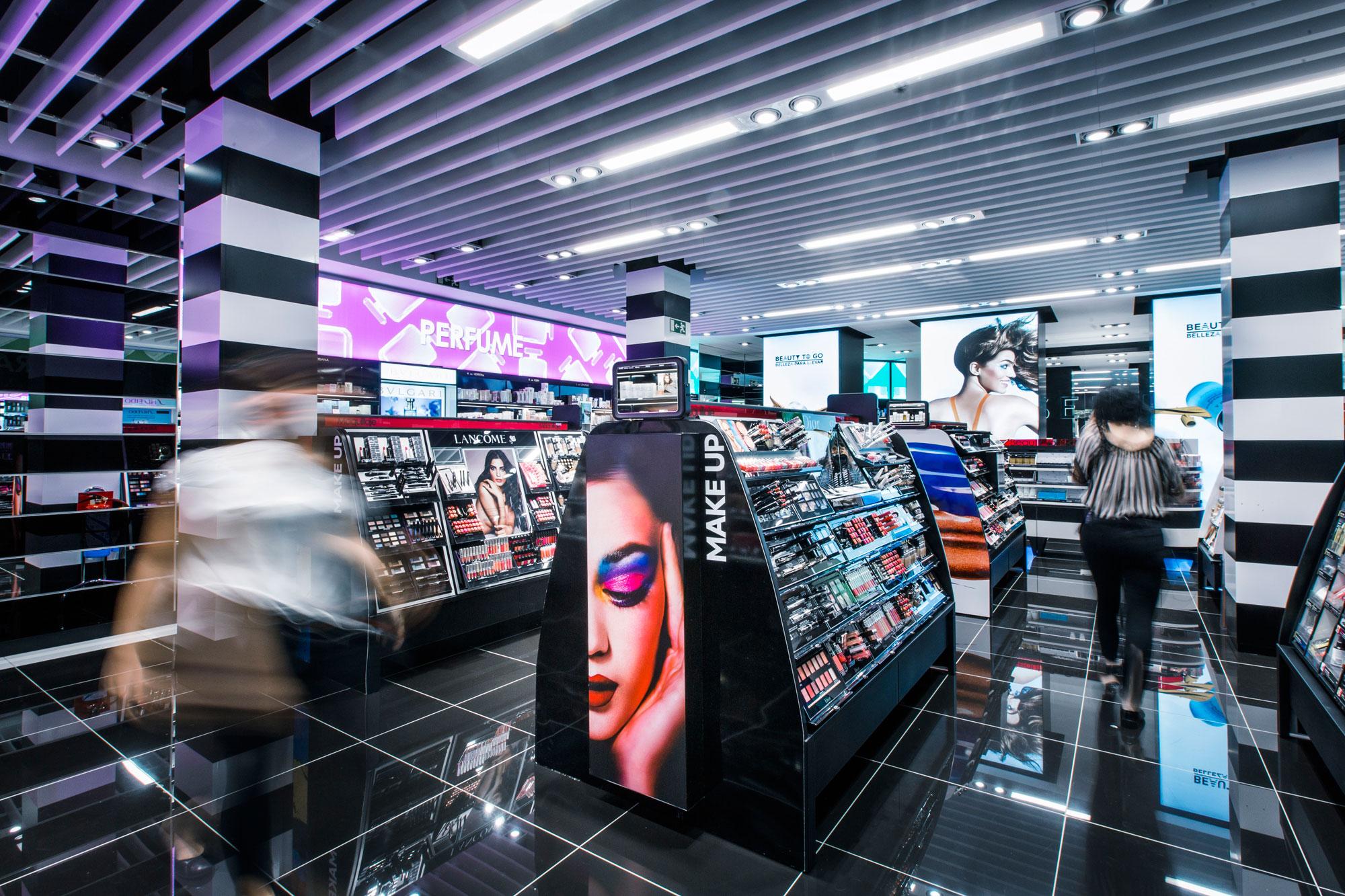 retail beauty store