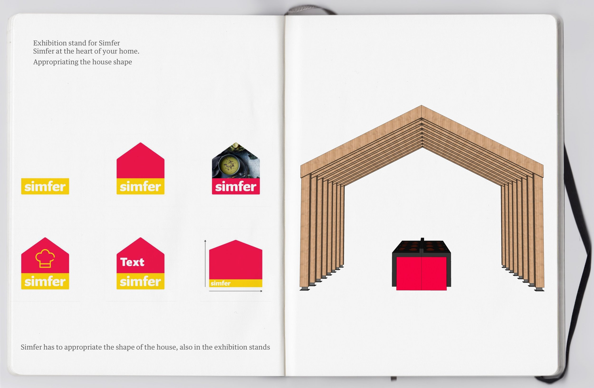 Brand architecture - Simfer at the heart of your home.