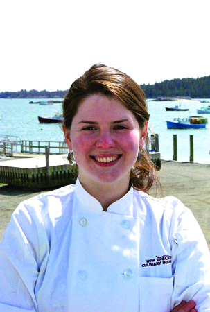 Chef Kimberly Kral.