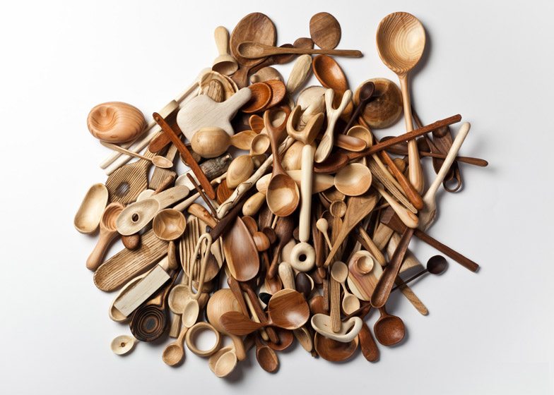 Swedish Designer  Stian Korntved Ruud  has been designing a wooden a day for a whole year. He decided to challenge himself in a 365 days project. When last interviewed he had carved 135 spoons. Heis looking for a gallery to showcase his experiment and hopes to make a book about it all.