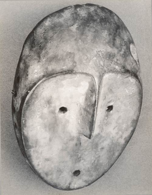 [[ Mask shot by Walker Evans via  La Collection /// Masque photographié par Walker Evans via  La Collection ]]