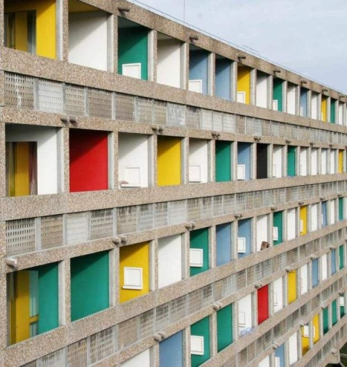Brazil House by Le Corbusier, via  Band of Outsiders