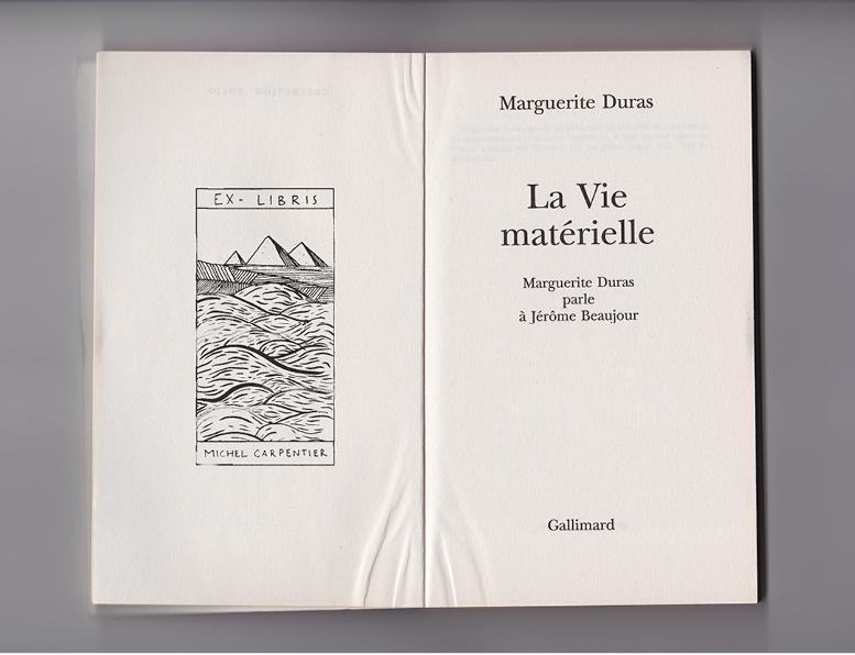 [[Ultimate chic ?  Morgane Rospars 's personnalised ex-libris stamp///Le summum du chic ? Un tampon ex-libris de Morgane Rospars ]]