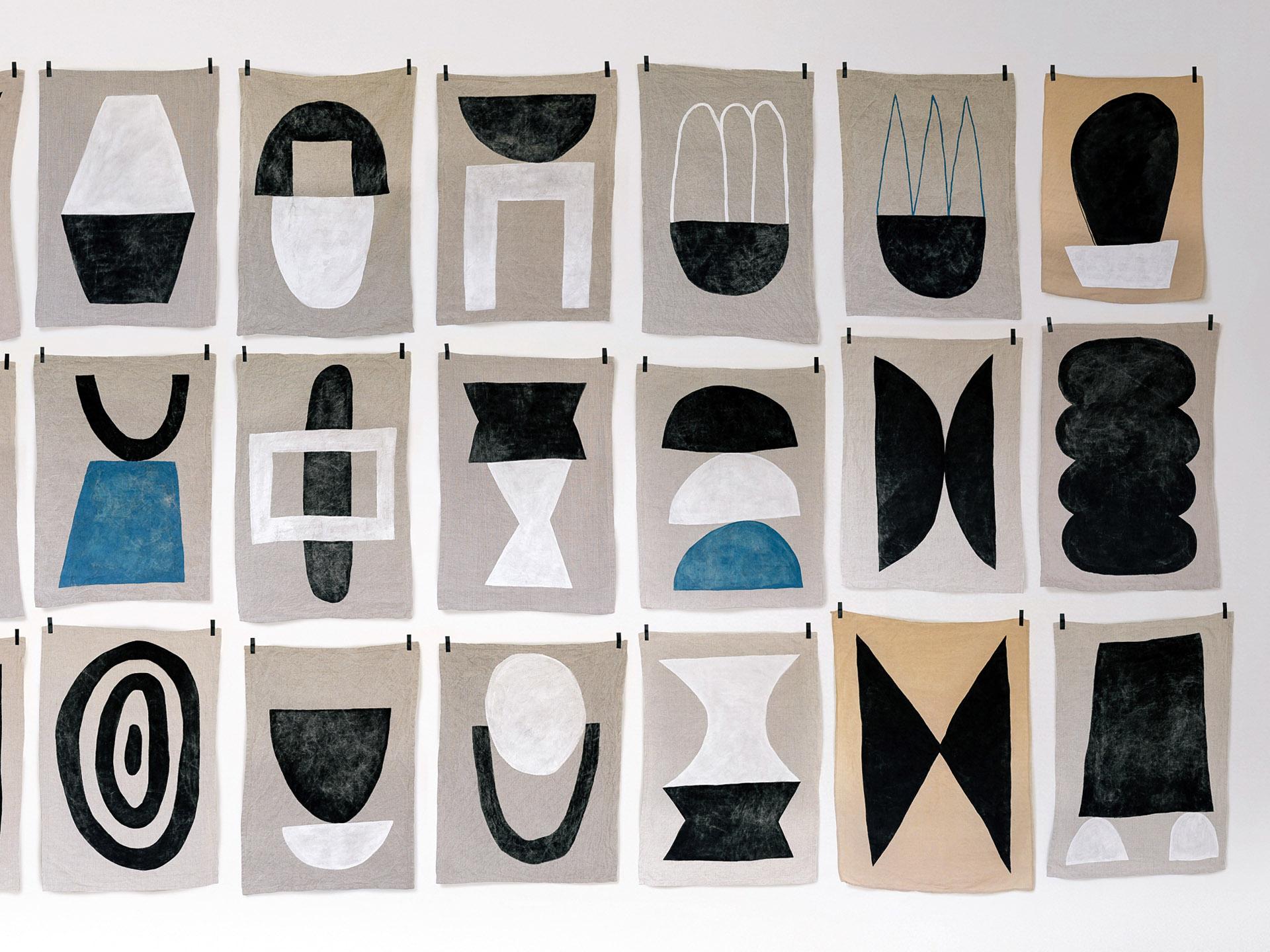 [[  Amateurs  (it's actually a studio run by a Paris-based couple, not amateurish at all). I see patterns, right ?///  Amateurs (en fait c'est un studio tenu par un couple basé à Paris, pas du tout amateurs d'ailleurs). Je vois des motifs, non ?]]
