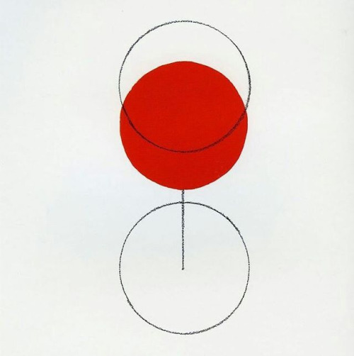 Glass of Beaujolais | Alan Fletcher, 1994 (personal work)