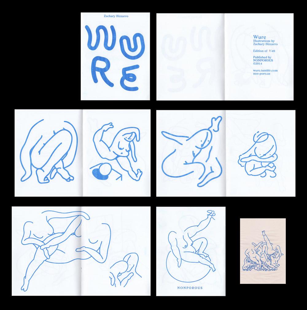 Zigzag font by Benoit Bodhuin