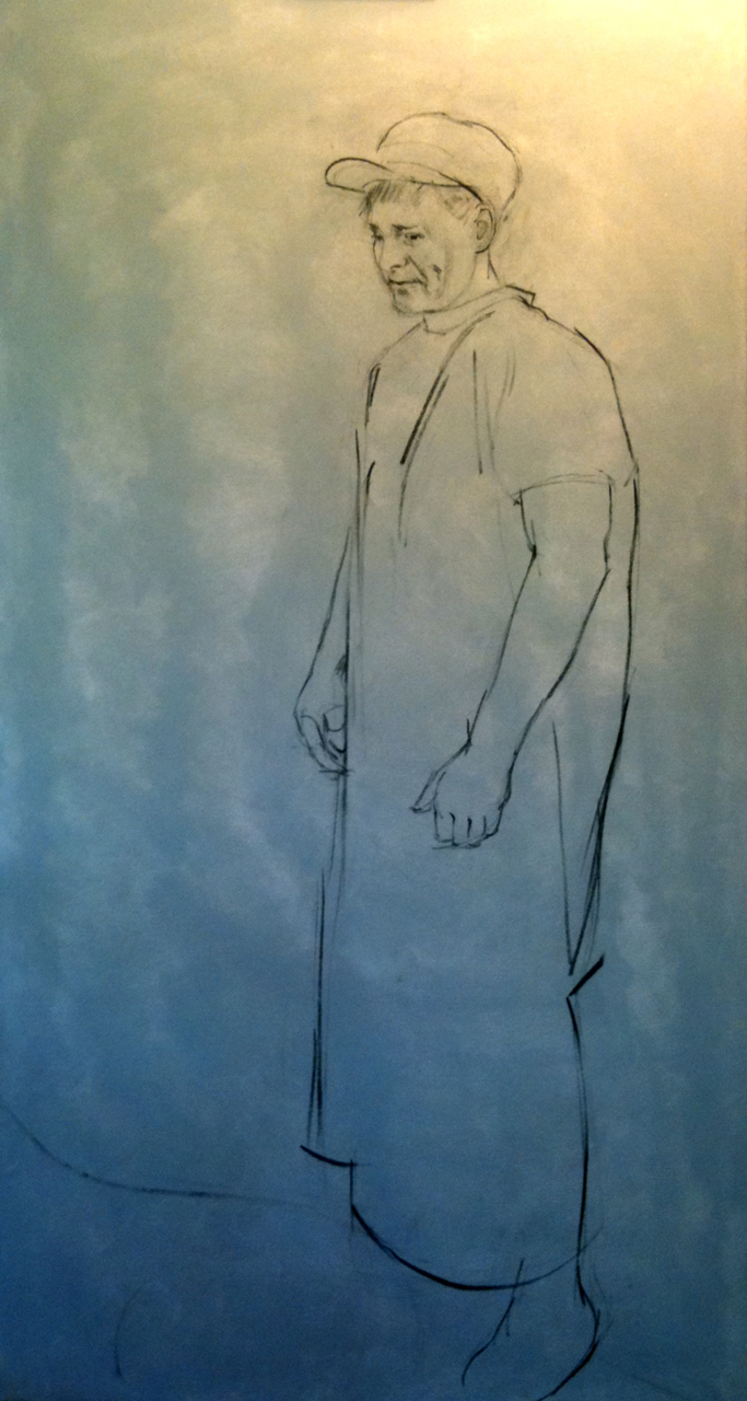 Underdrawing for The Veterinarian