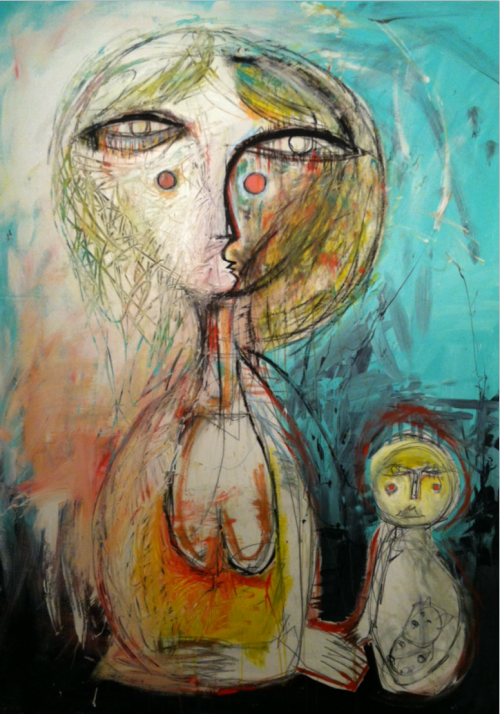 MOTHER AND HIJA REFUGEES.  SOLD