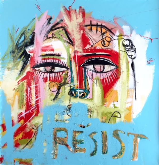 RESIST . SOLD