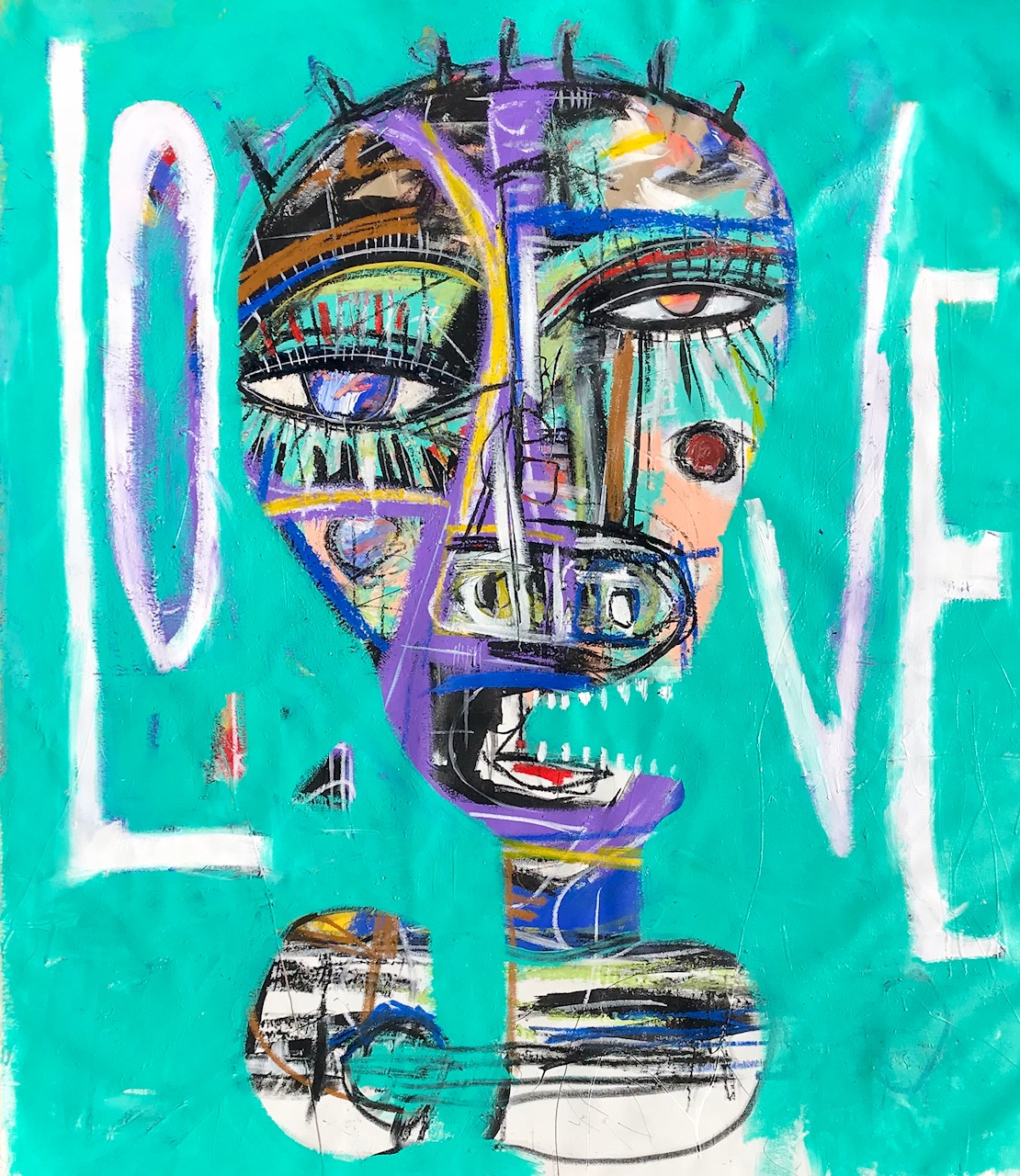 "BOB MARLEY ""ONE LOVE"". SOLD"