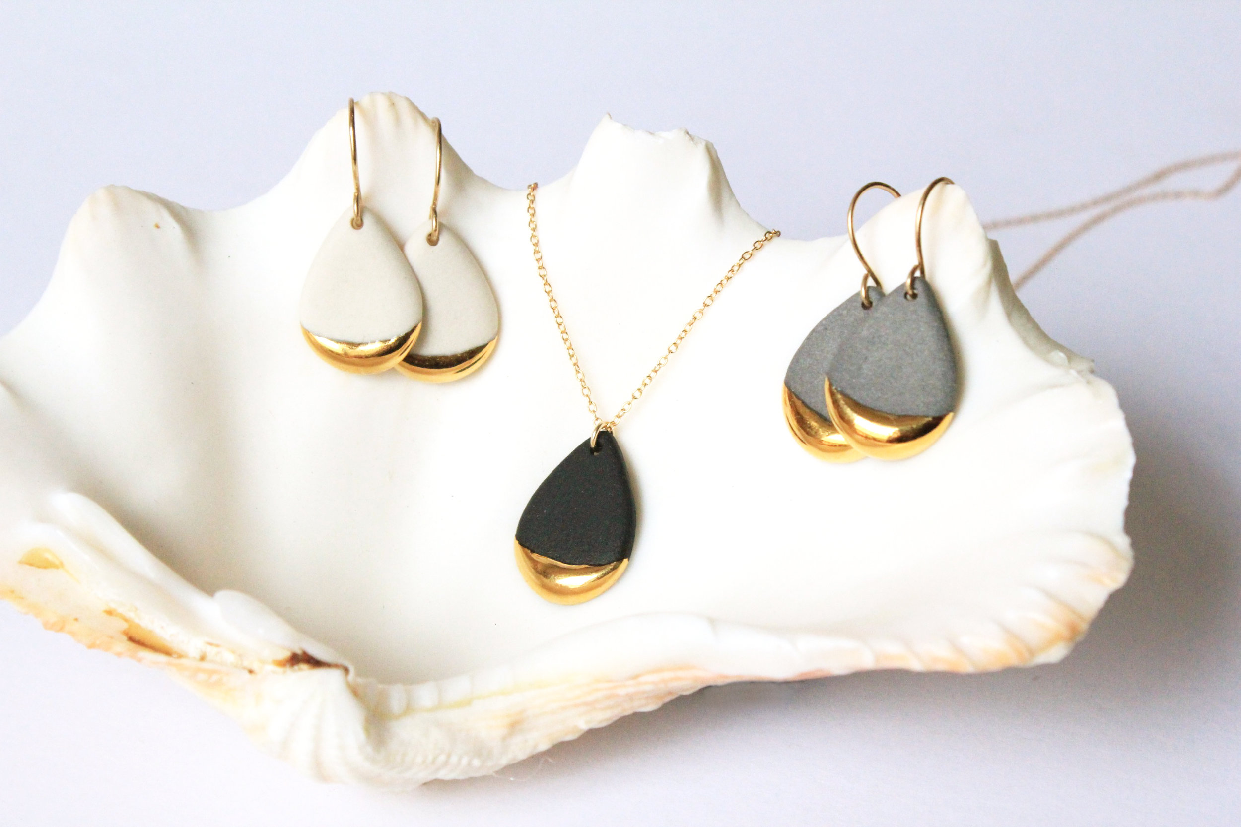 Gold Dipped Teardrop Collection