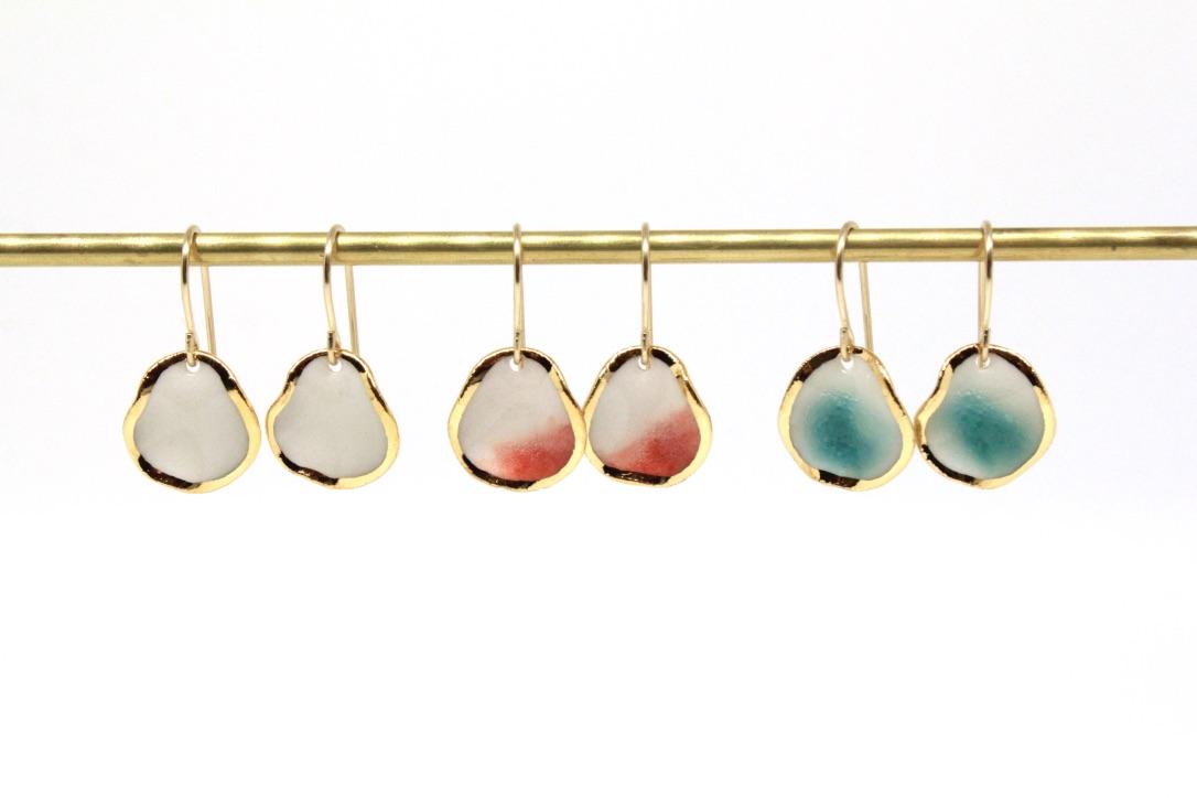Summer Reef Earrings (glossy)