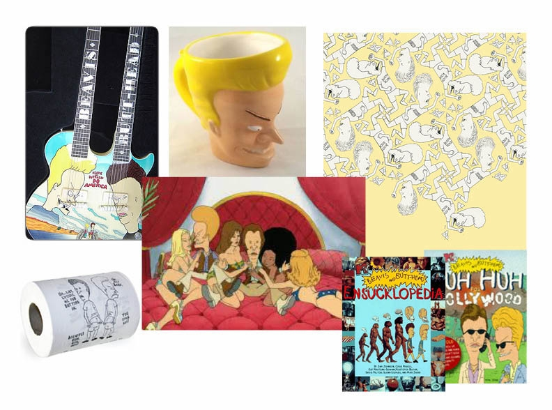 CP / CD / Beavis + Butthead / Marketing and Consumer Products imagery