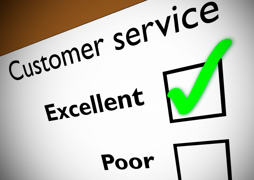 How would you rate your customer service survey?