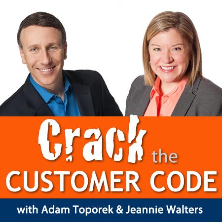 Image courtesy of  Crack the Customer Code .