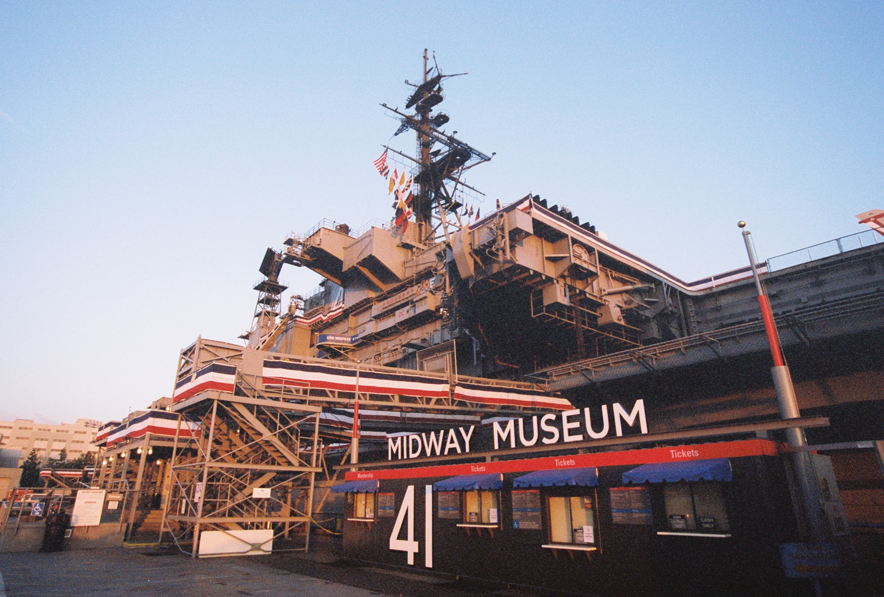 Photo courtesy of the USS Midway Museum