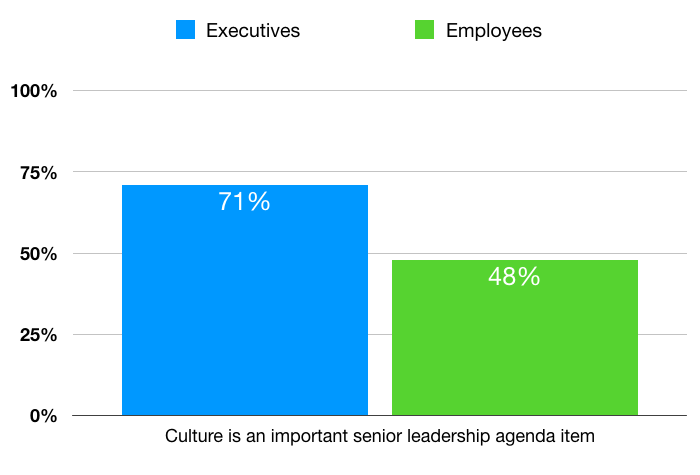 """culture is an important senior leadership agenda item."""