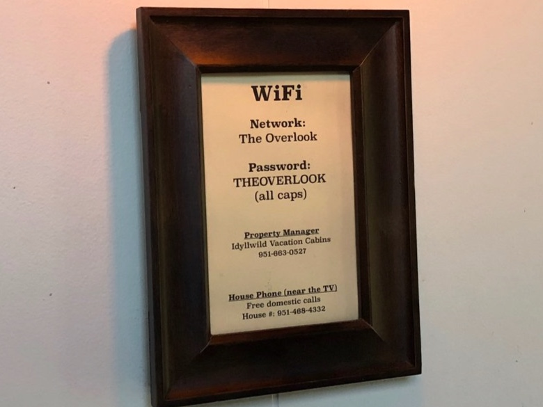 The new WiFi sign.