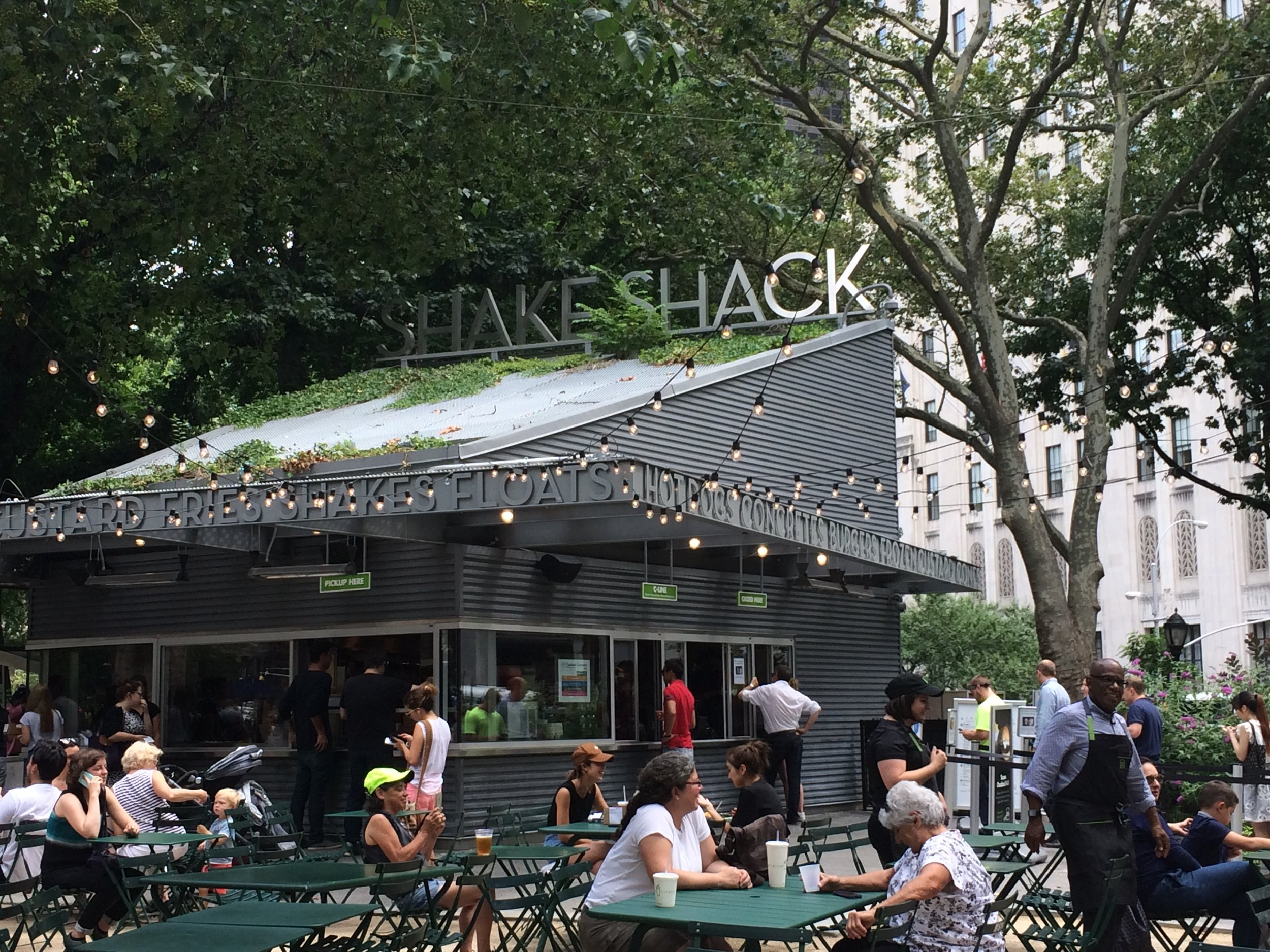 Al Roker at Shake Shack in New York City.