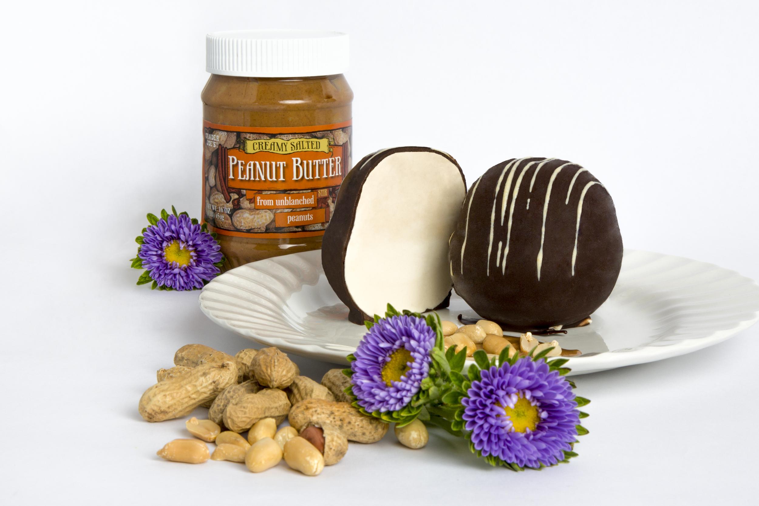 Peanut Butter Tartufo