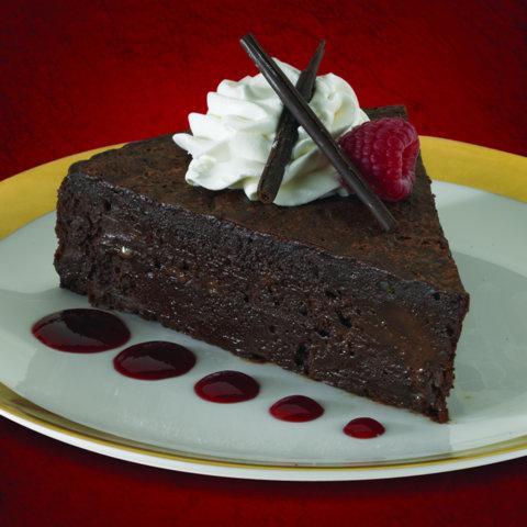 Gluten Free Flourless  Chocolate Cake