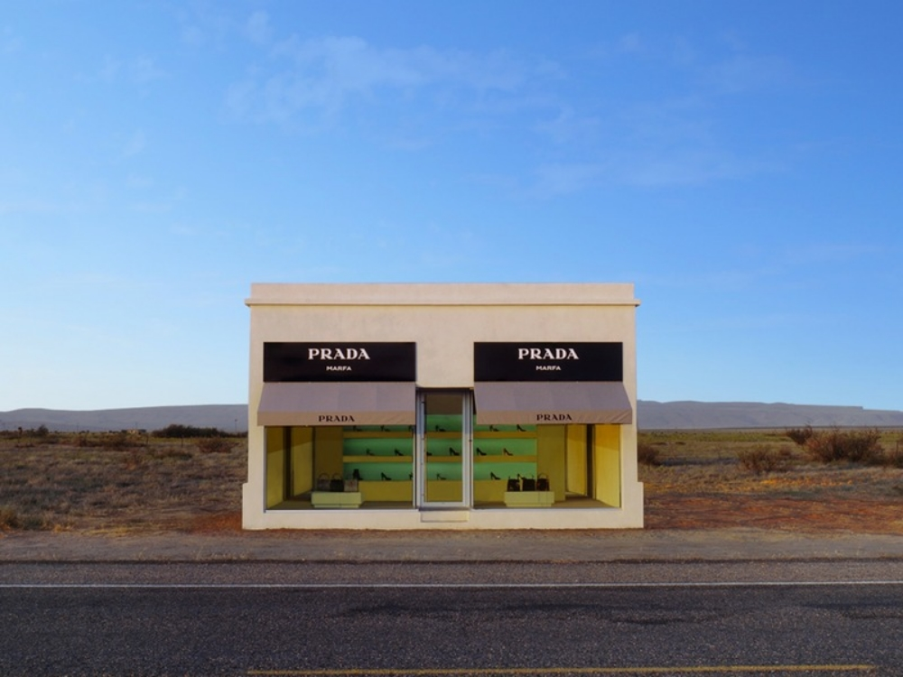 Elmgreen & Dragset, PRADA MARFA $1600 USD