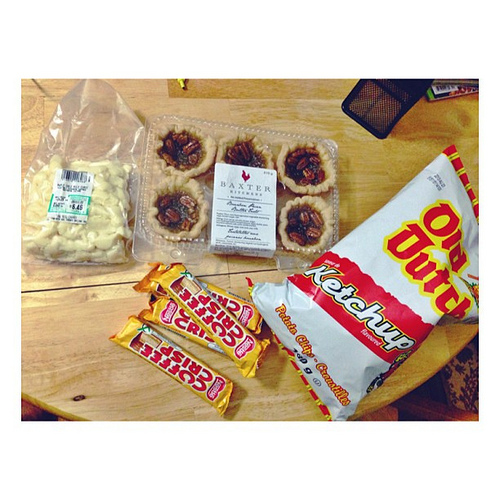 butter tarts, cheese curds for poutine, coffee crisps & ketchup chips - the best of Canada!