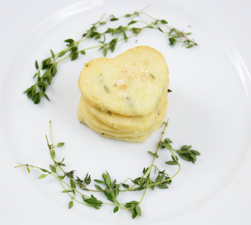 Lemon Thyme Shortbread and a post on loss