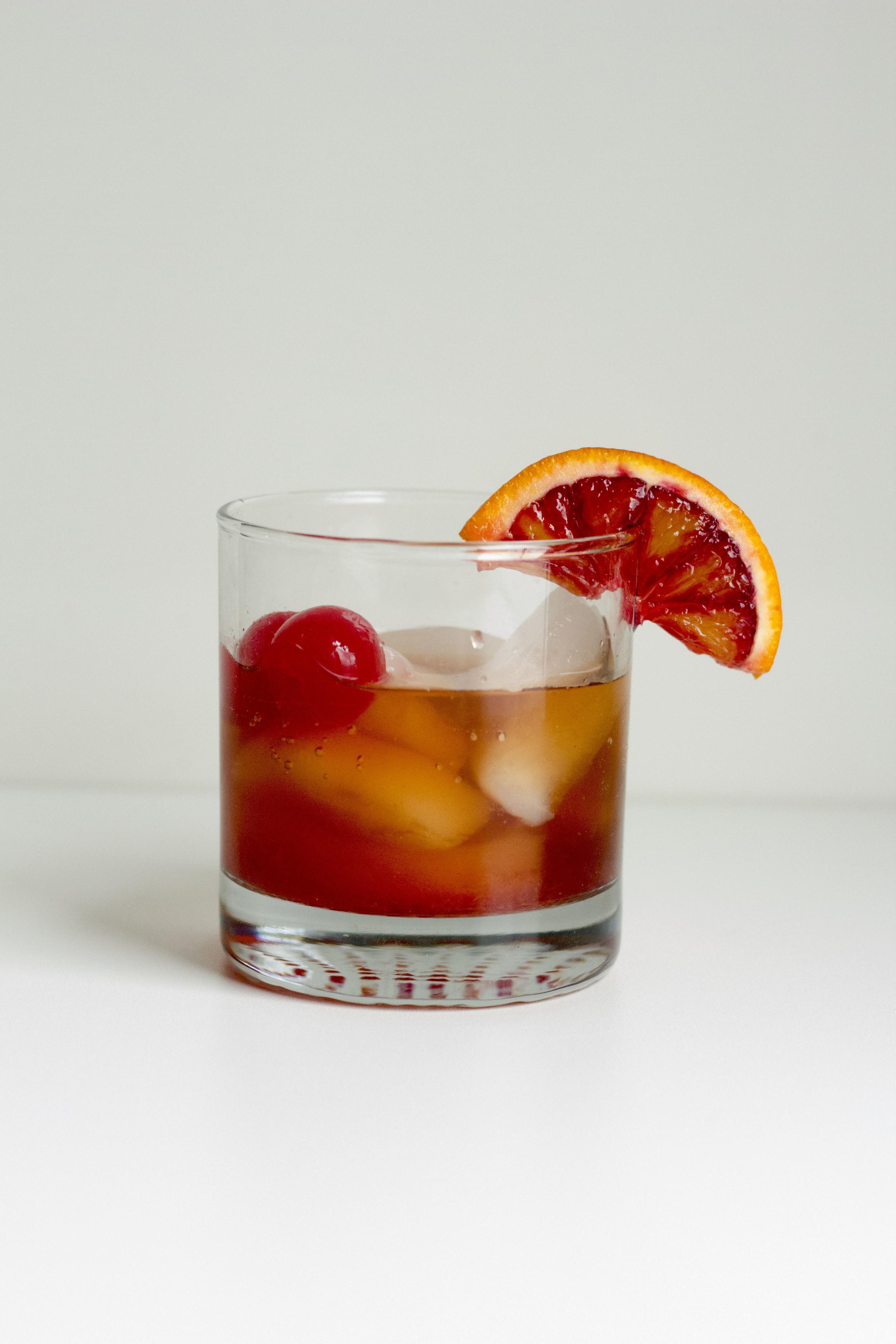 Blood Orange Old Fashioned