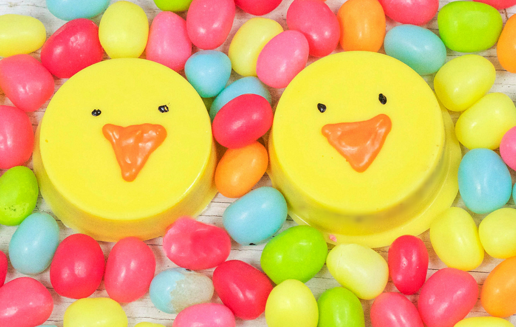 Easter chick oreos