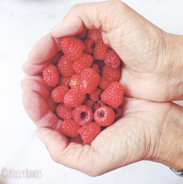 raspberries...I grew these!
