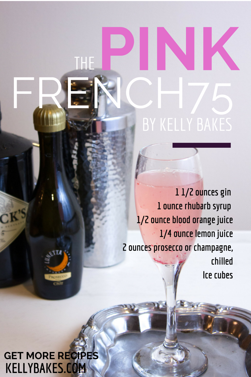 Pink French 75 Cocktail Recipe