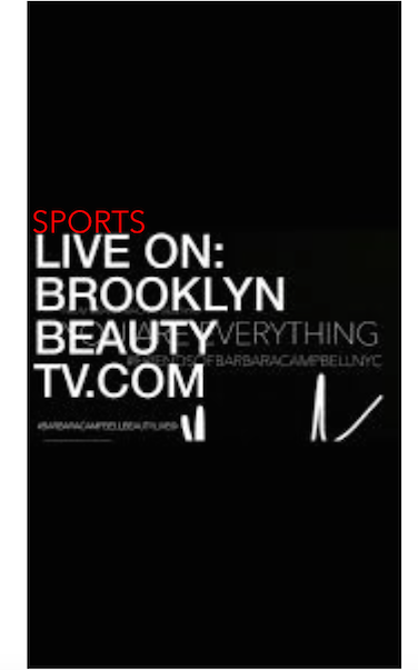 SPORTS LIVE ON BROOKLYN BEAUTY TV.COM Wise Guys On Every Tuesday & Thursday